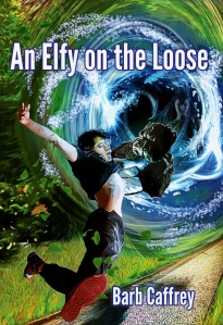 Cover art for AN ELFY ON THE LOOSE